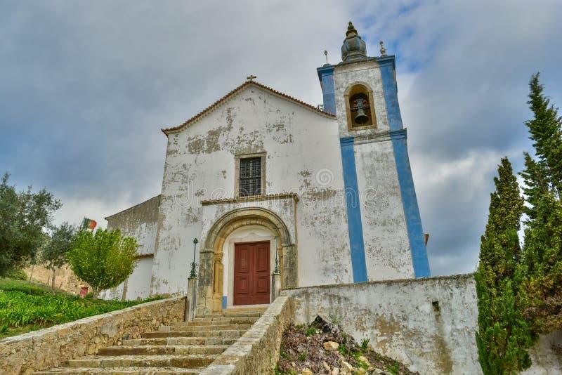 Vecchia chiesa a Torres Vedras, Portogallo immagine stock libera da diritti