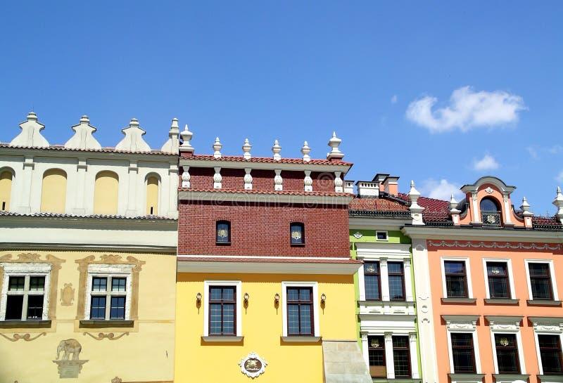 Vecchia città immagine stock