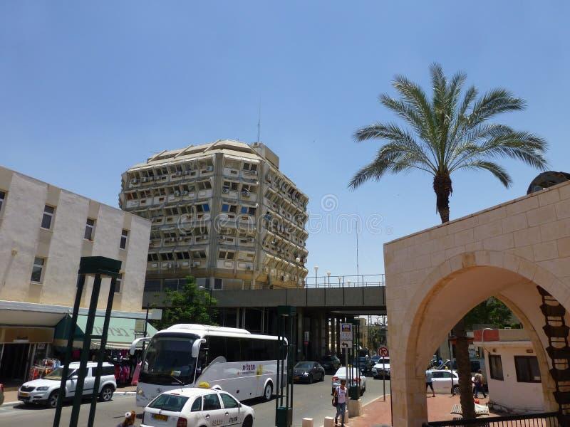 Vecchia città in birra Sheva in Israele fotografia stock libera da diritti