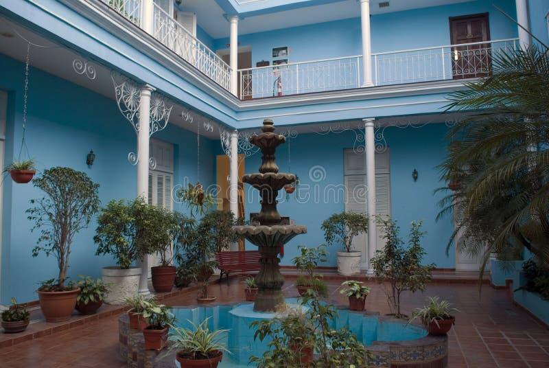 Vecchia città, Cienfuegos, Cuba fotografia stock libera da diritti