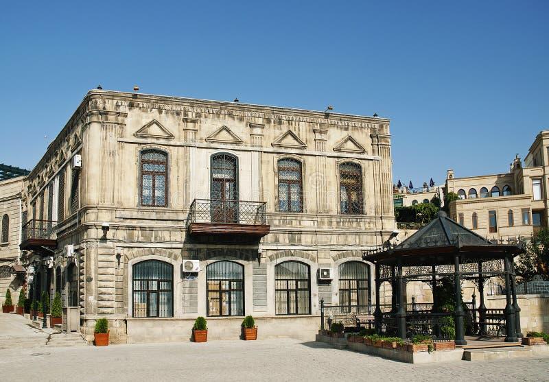 Vecchia città di Bacu nell'Azerbaijan immagini stock libere da diritti