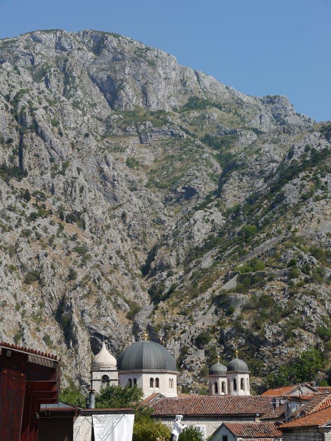 Vecchia città di Cattaro: Perla del Montenegro fotografia stock libera da diritti