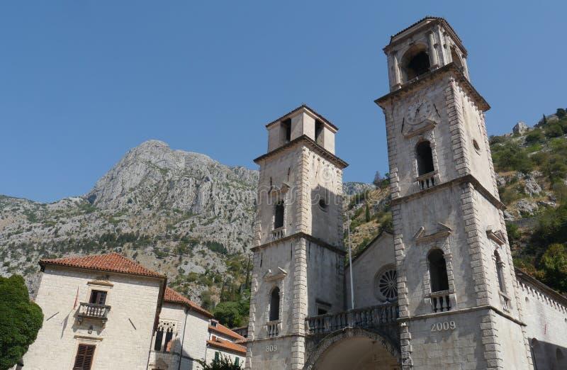 Vecchia città di Cattaro: Perla del Montenegro immagine stock libera da diritti