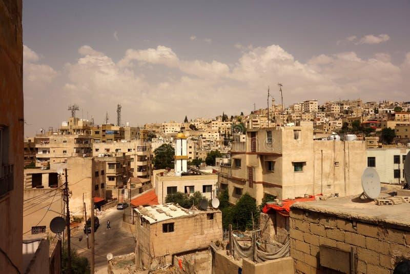 Vecchia città di DoAmman immagini stock