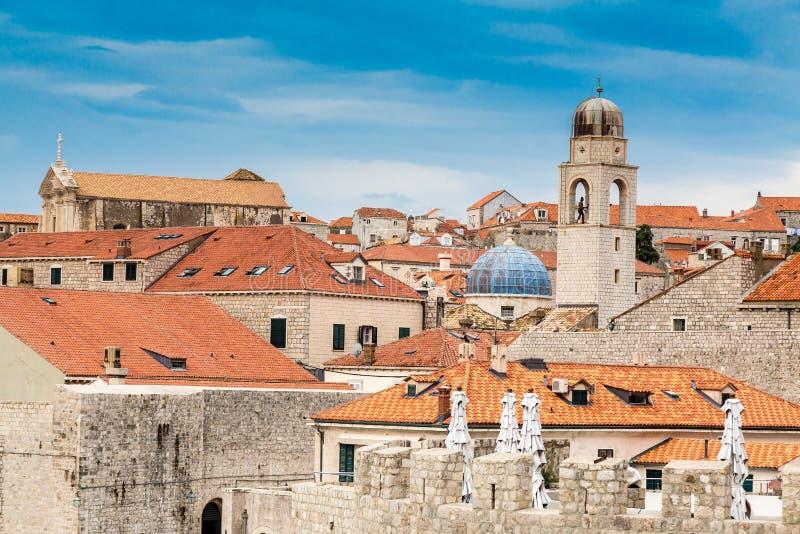 Vecchia città di Dubrovnik fotografie stock libere da diritti