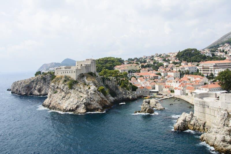 Vecchia città di Dubrovnik, Croatia fotografia stock libera da diritti