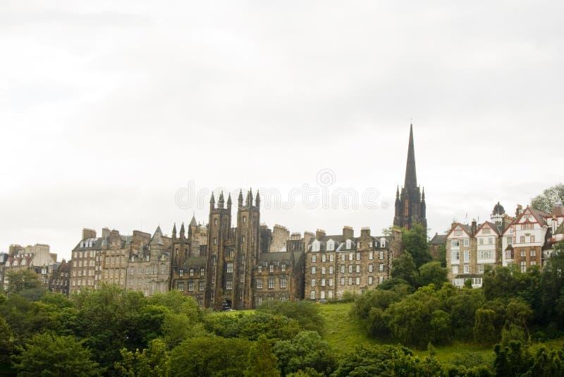 Vecchia città di Edinburgh, Scozia fotografia stock libera da diritti