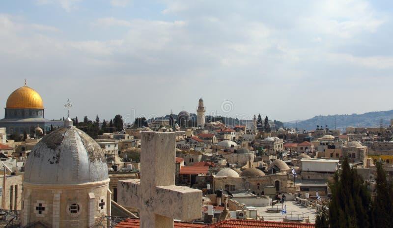 Vecchia città di Gerusalemme immagine stock libera da diritti