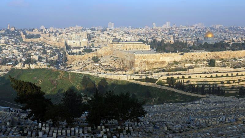 Vecchia città di Gerusalemme, Israele fotografie stock libere da diritti