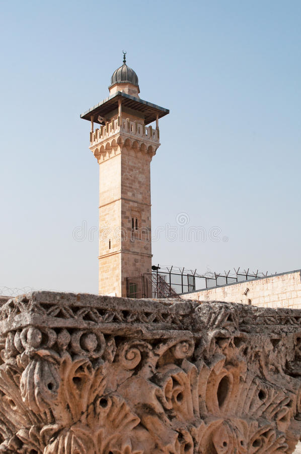 Vecchia città di Gerusalemme, Israele, Medio Oriente fotografie stock libere da diritti