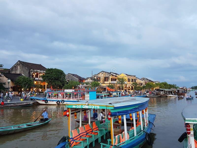 Vecchia città di Hoian - Vietnam immagini stock libere da diritti
