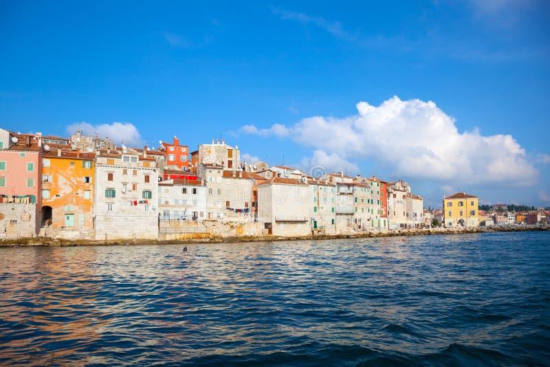 Vecchia città di Istrian fotografie stock
