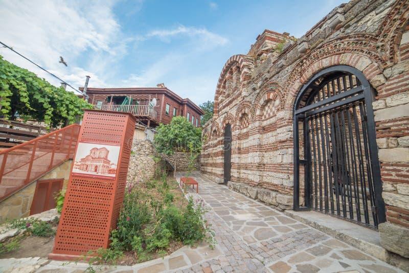 Vecchia città di Nesebar, Bulgaria immagini stock