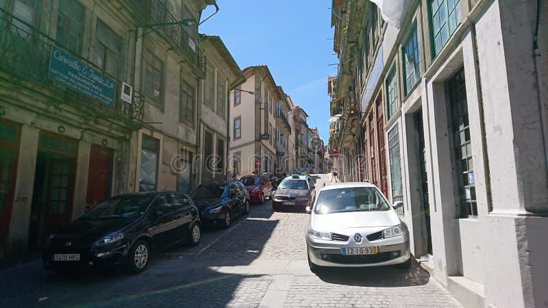 Vecchia città di Oporto immagine stock libera da diritti