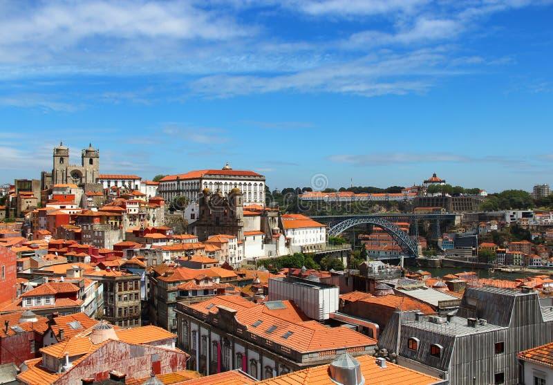 Vecchia città di Oporto, Portogallo immagine stock libera da diritti