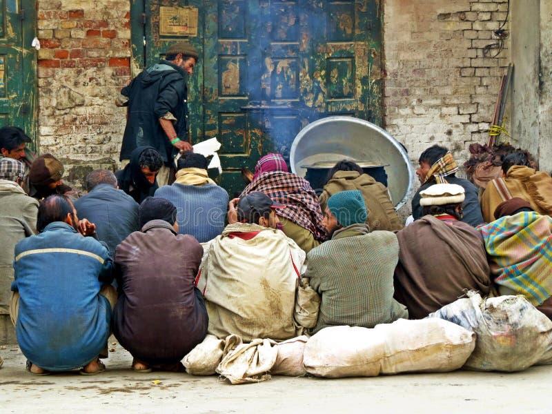 vecchia città di Rawalpindi, Pakistan immagini stock