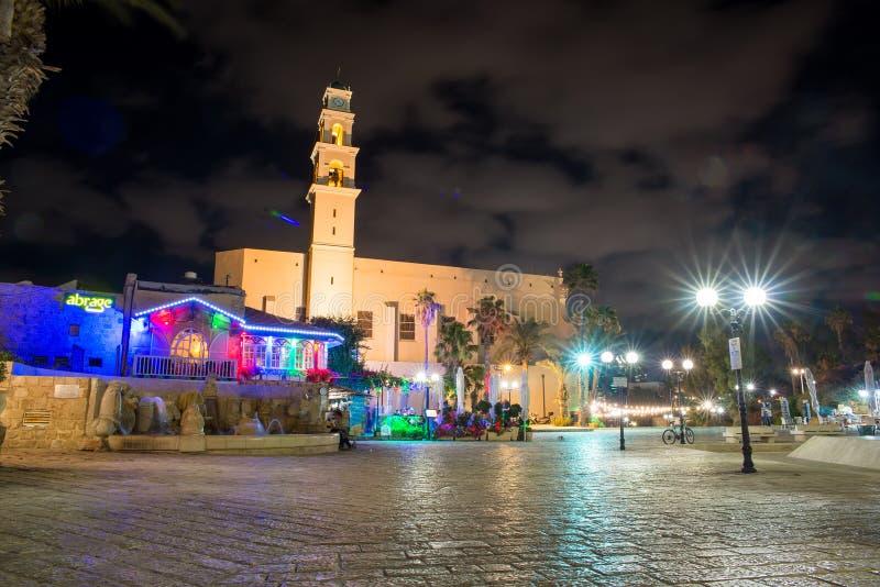 Vecchia città di Tel Aviv fotografie stock libere da diritti
