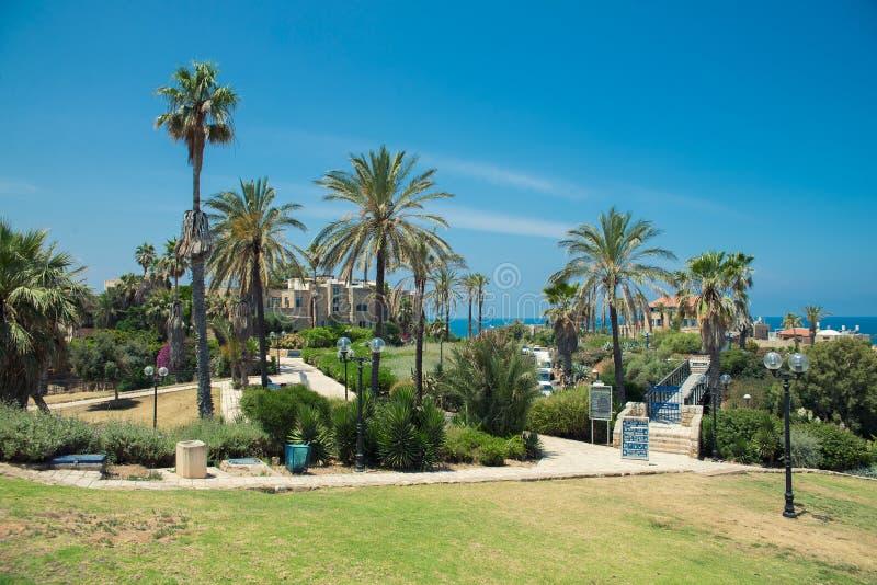Vecchia città di Tel Aviv immagine stock libera da diritti