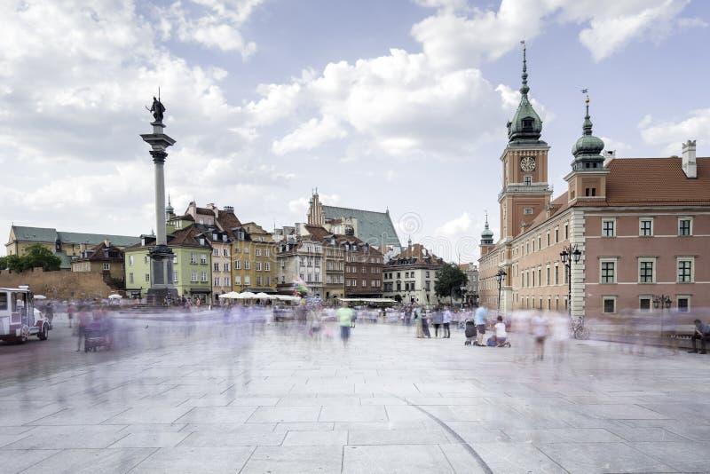 Vecchia città di Varsavia fotografia stock libera da diritti