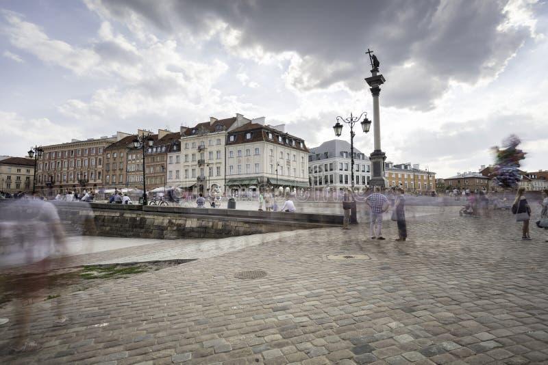 Vecchia città di Varsavia fotografie stock libere da diritti