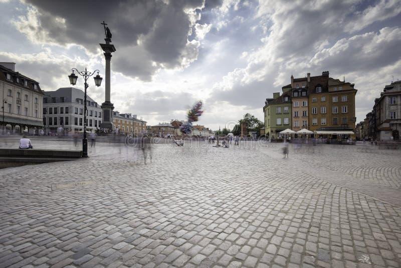 Vecchia città di Varsavia immagine stock libera da diritti
