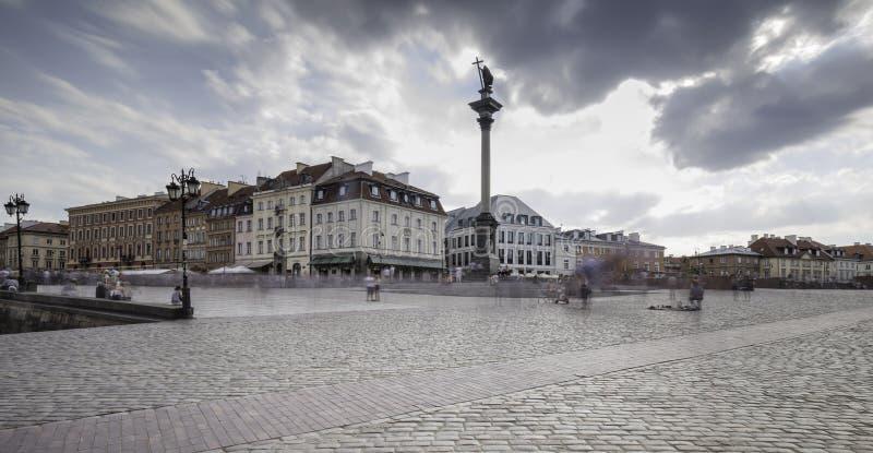 Vecchia città di Varsavia immagini stock