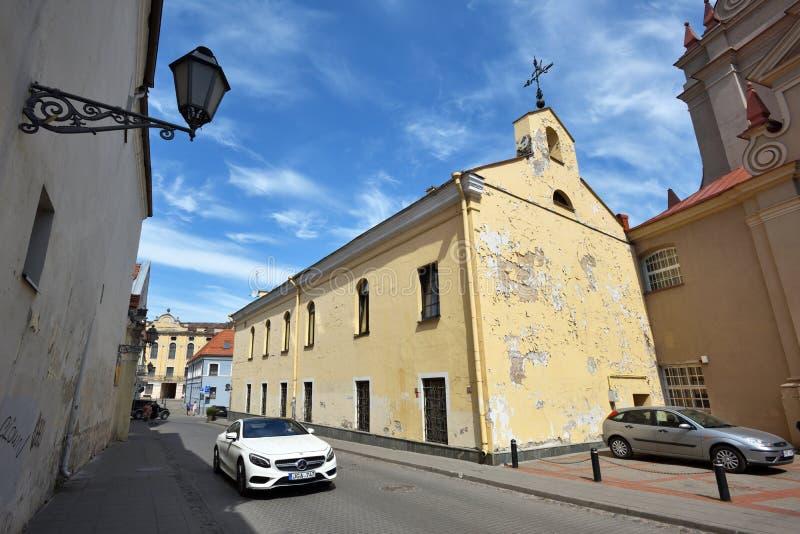 Vecchia città di Vilnius immagini stock