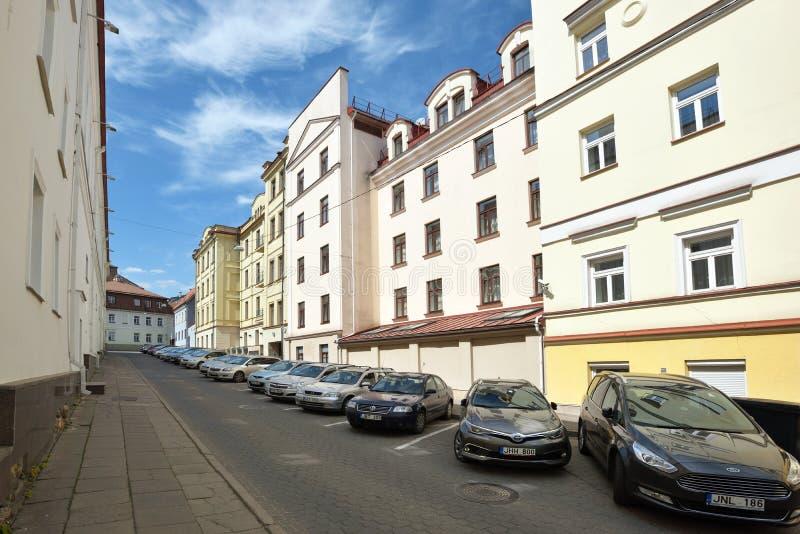 Vecchia città di Vilnius fotografia stock libera da diritti