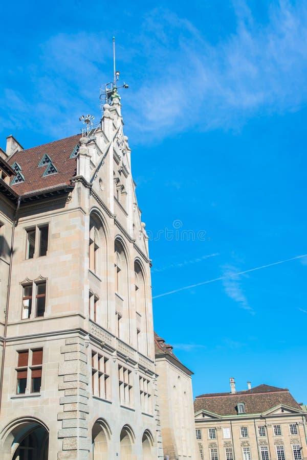 Vecchia città di Zurigo immagini stock