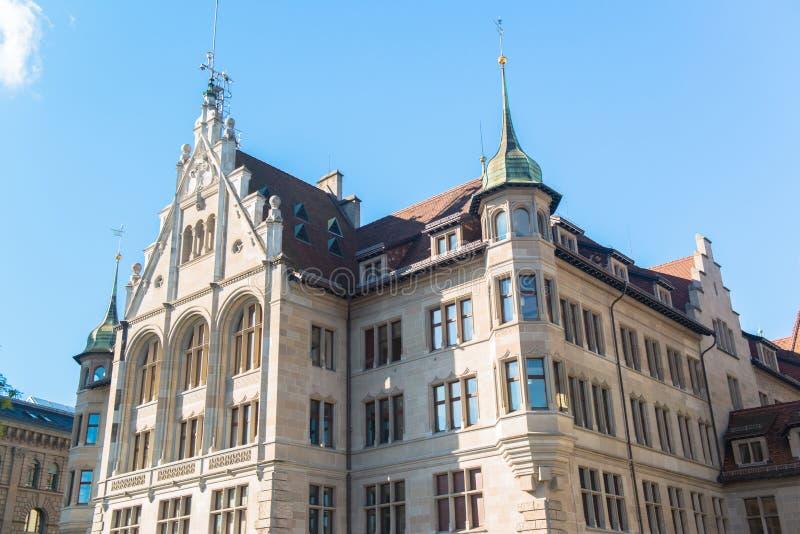 Vecchia città di Zurigo fotografia stock