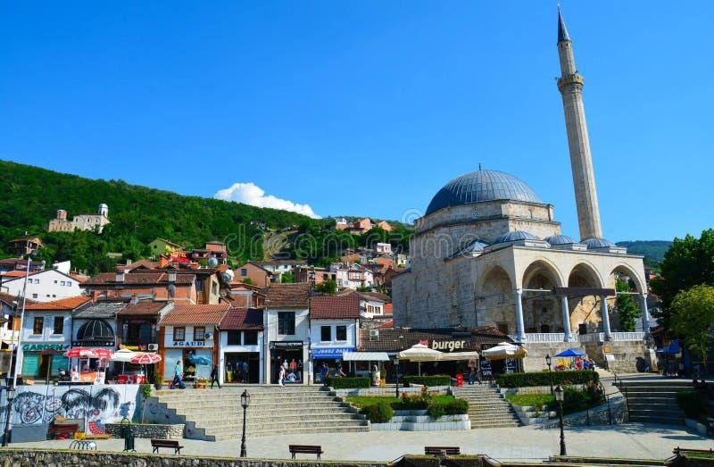 Vecchia città il Kosovo di Prizren immagine stock