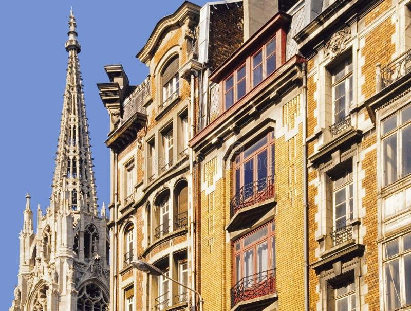Vecchia città Lille fotografie stock libere da diritti