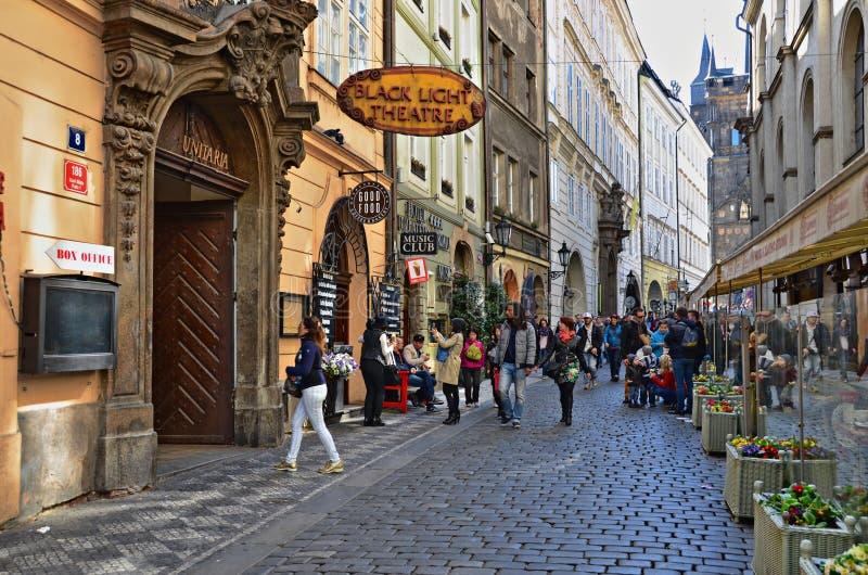 Vecchia città, Praga immagini stock