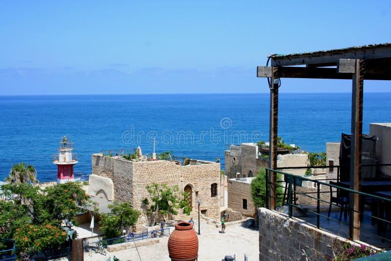 Vecchia città Tel Aviv, Israele fotografia stock libera da diritti