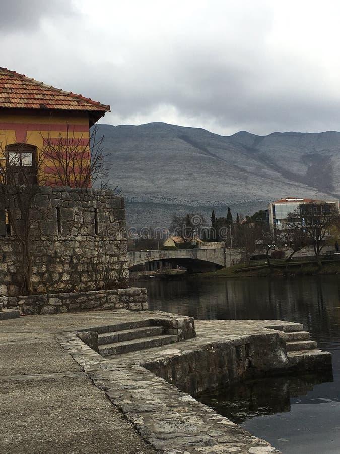Vecchia città Trebinje immagini stock libere da diritti