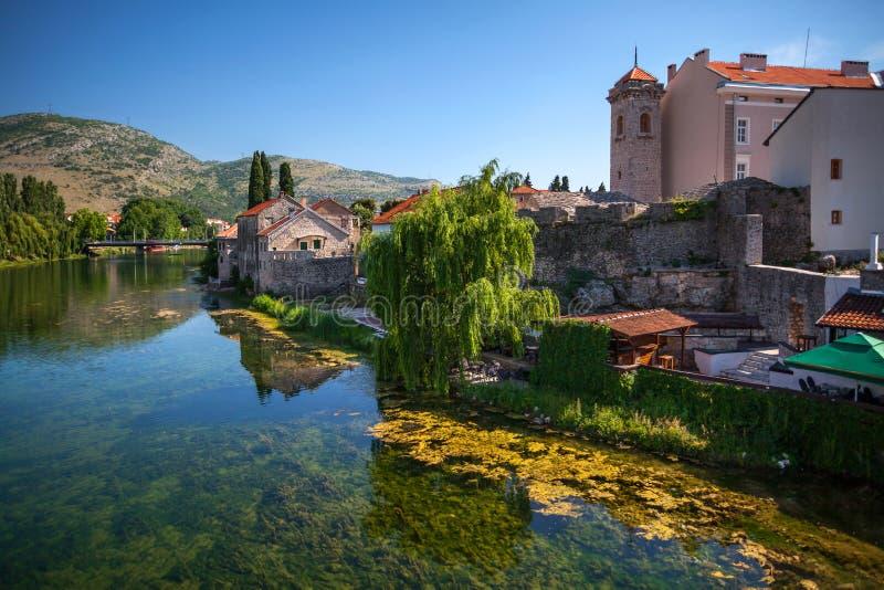 Vecchia città Trebinje fotografie stock libere da diritti