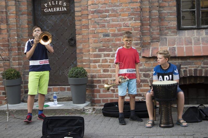 Vecchia citt? di Vilnius immagini stock libere da diritti