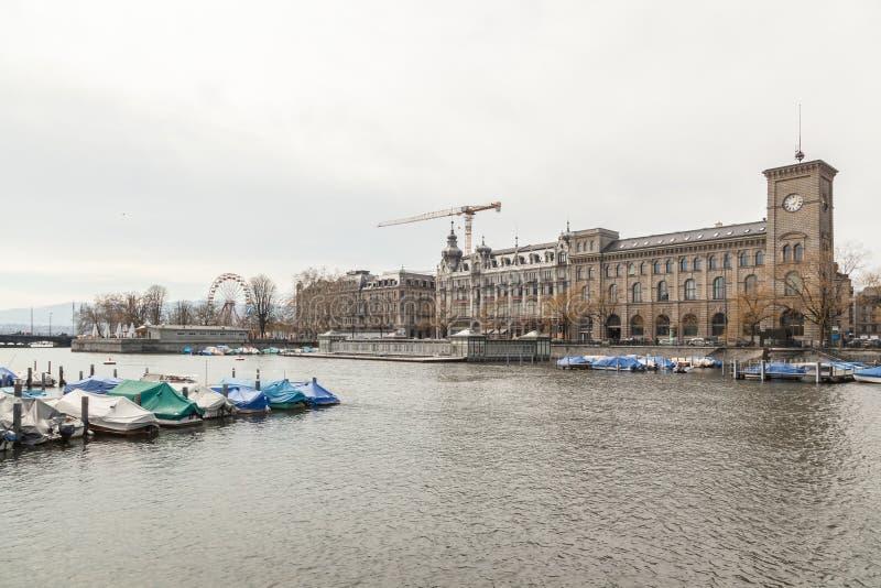 Vecchia citt? di Zurigo immagini stock libere da diritti