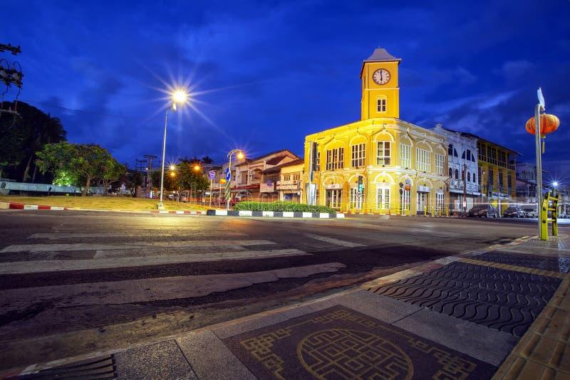 Vecchia citt? Tailandia di Phuket immagini stock libere da diritti