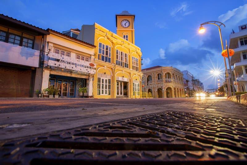 Vecchia citt? Tailandia di Phuket fotografia stock libera da diritti
