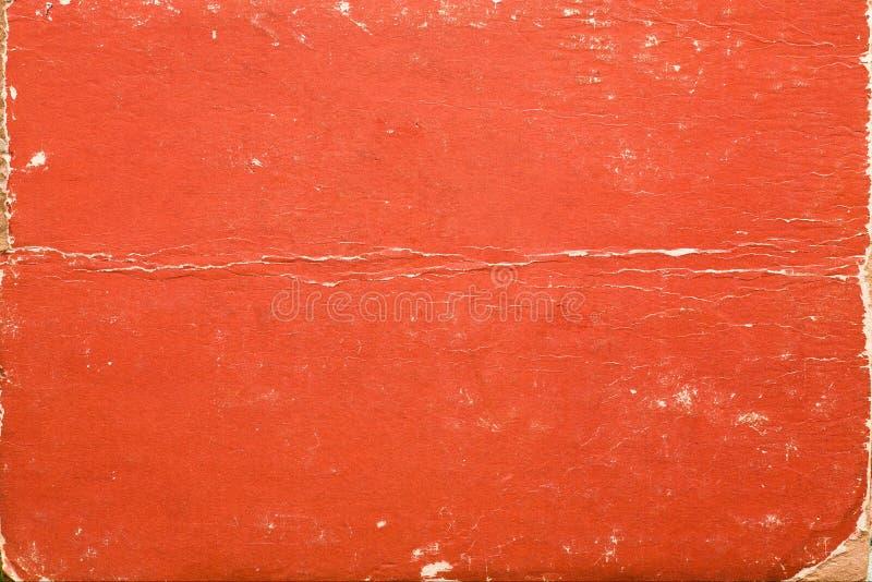 Vecchia copertina di libro sporca di struttura fotografia stock
