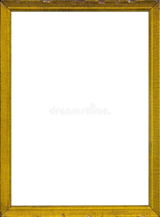 Vecchia cornice di legno fotografia stock libera da diritti