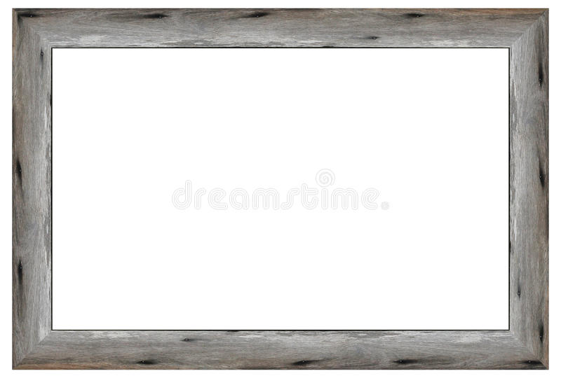 Vecchia cornice di legno immagini stock
