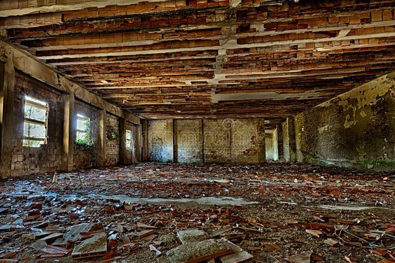 Vecchia costruzione abbandonata immagine stock libera da diritti