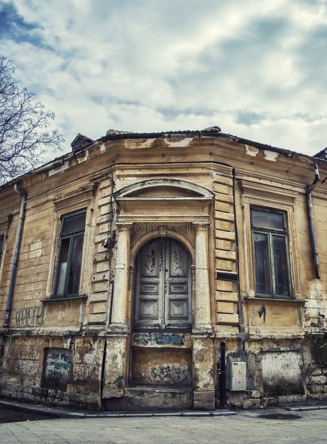 Vecchia costruzione abbandonata fotografie stock libere da diritti