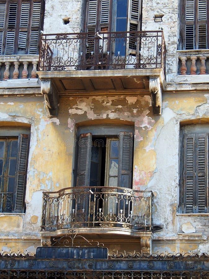 Vecchia costruzione, Atene immagini stock