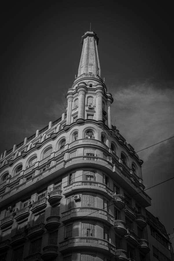 Vecchia costruzione di Buenos Aires fotografie stock libere da diritti