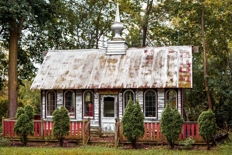 Vecchia costruzione di chiesa fotografie stock