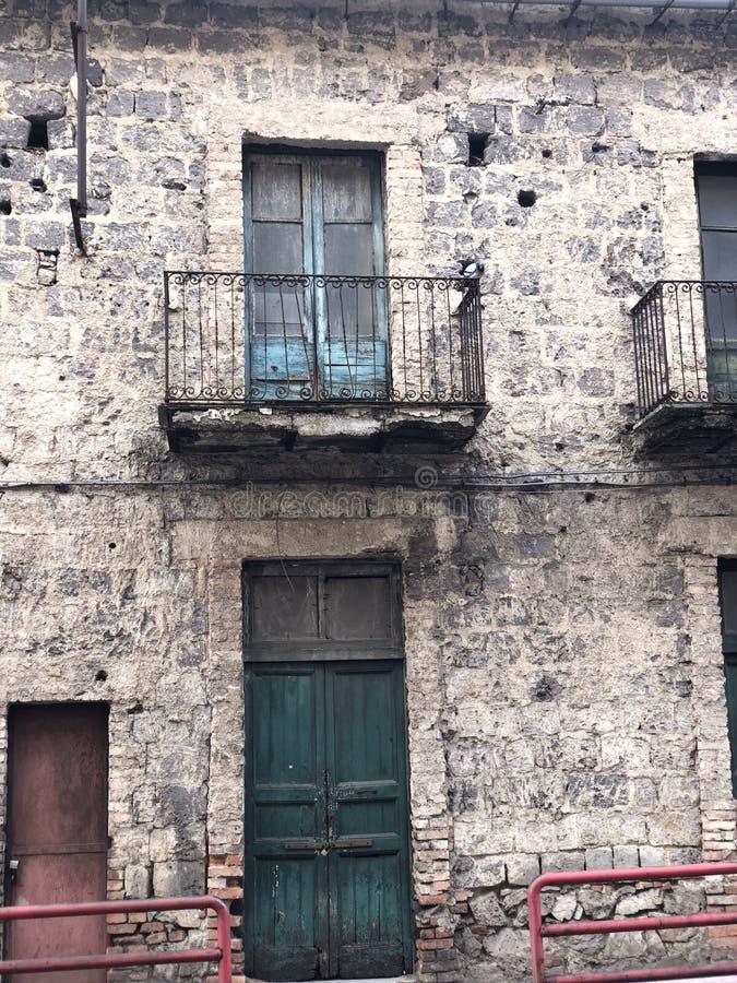 Vecchia costruzione italiana fotografia stock libera da diritti
