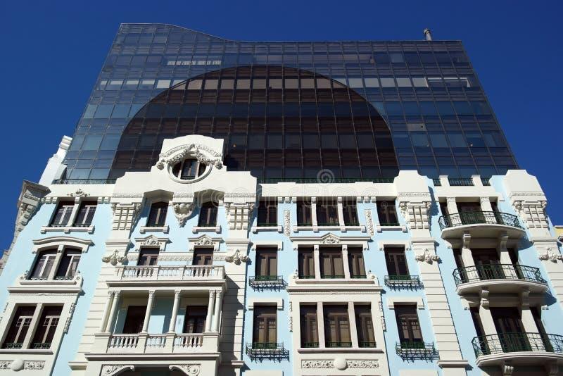 Vecchia costruzione, Lisbona, Portogallo immagini stock libere da diritti